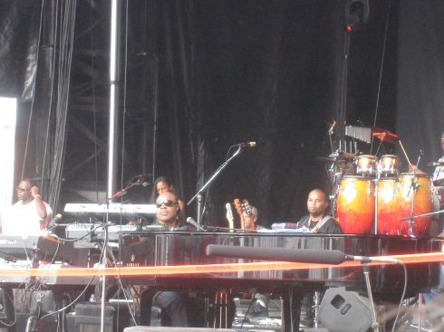 atm-stevie wonder; sound check!
