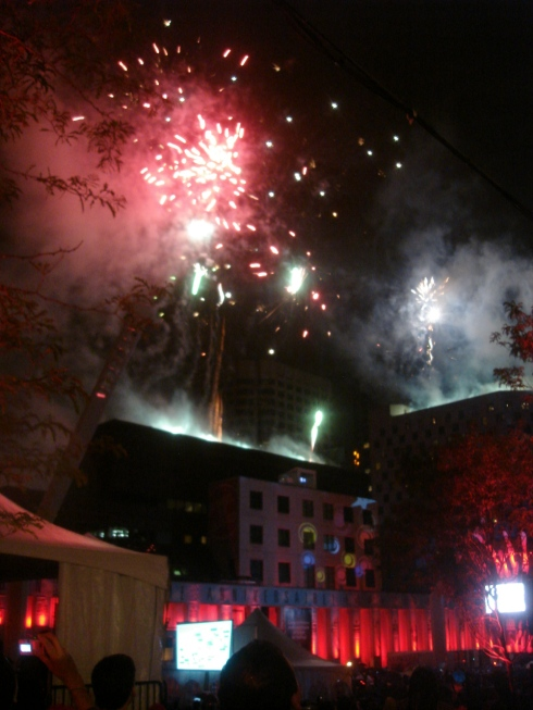 atm-stevie wonder; amazing fireworks after!!!!